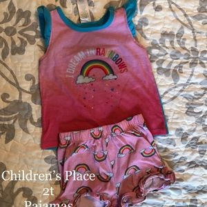 Other - Lot of 2T toddler girl pajamas